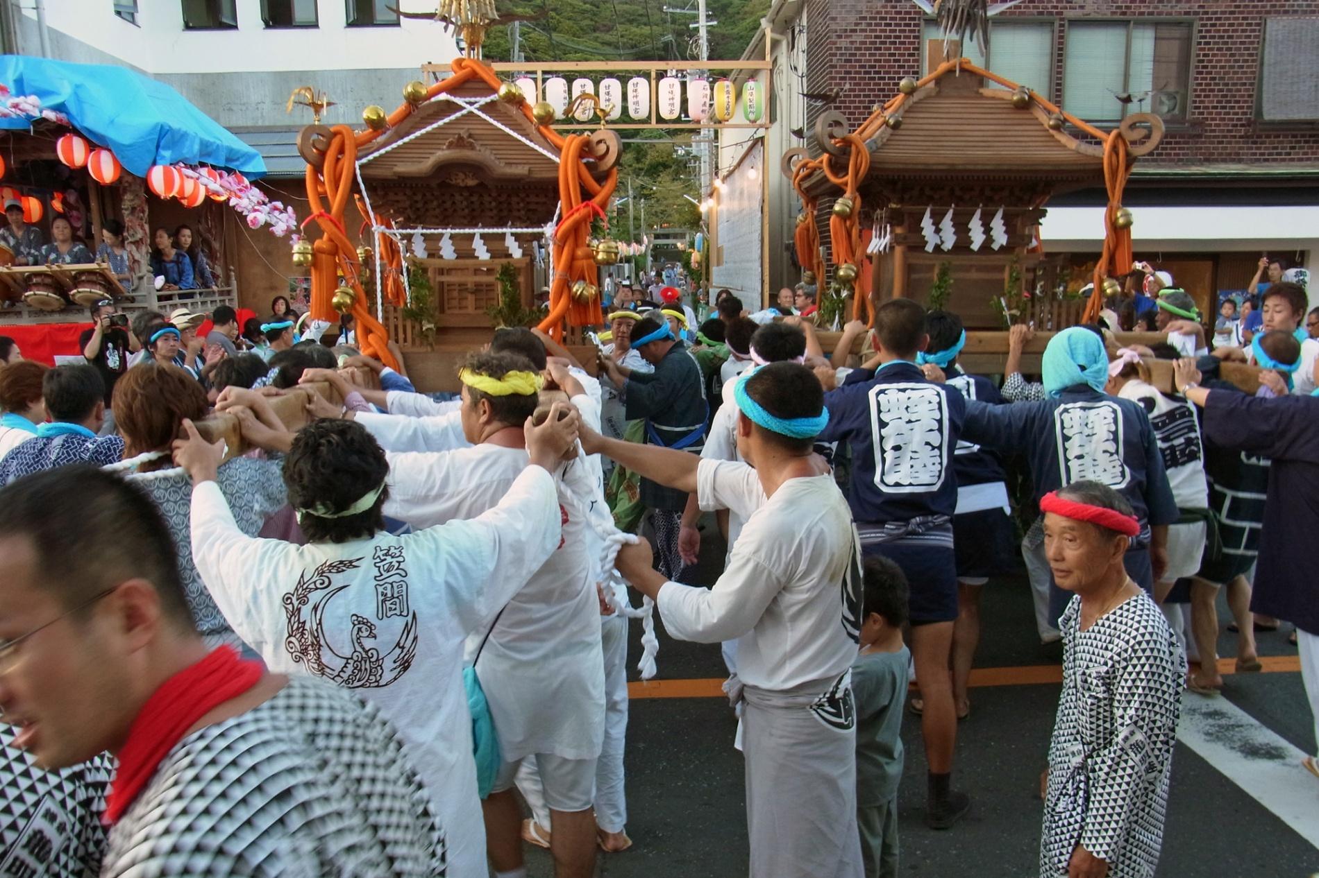 甘綱祭り11